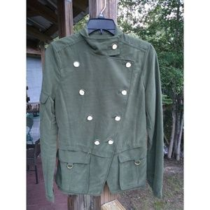 Daughters of the Liberation Green Utility Jacket